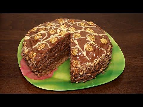 Шоколадный торт простой в мультиварке