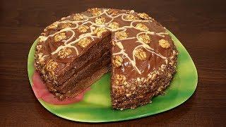 ♨️Очень вкусный Шоколадный Торт 🍰 Простой рецепт Шоколадного Торта в мультиварке | Выпечка рецепты