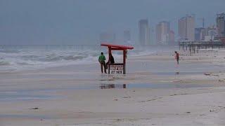 A Michael hurrikán Florida partjainál van