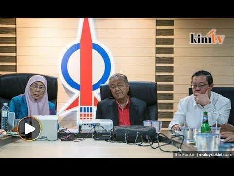 Tun M akhirnya jejak kaki di pejabat DAP