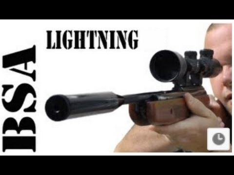 REVIEW: BSA Lightning Air Rifle - Power Accuracy Spring Airgun