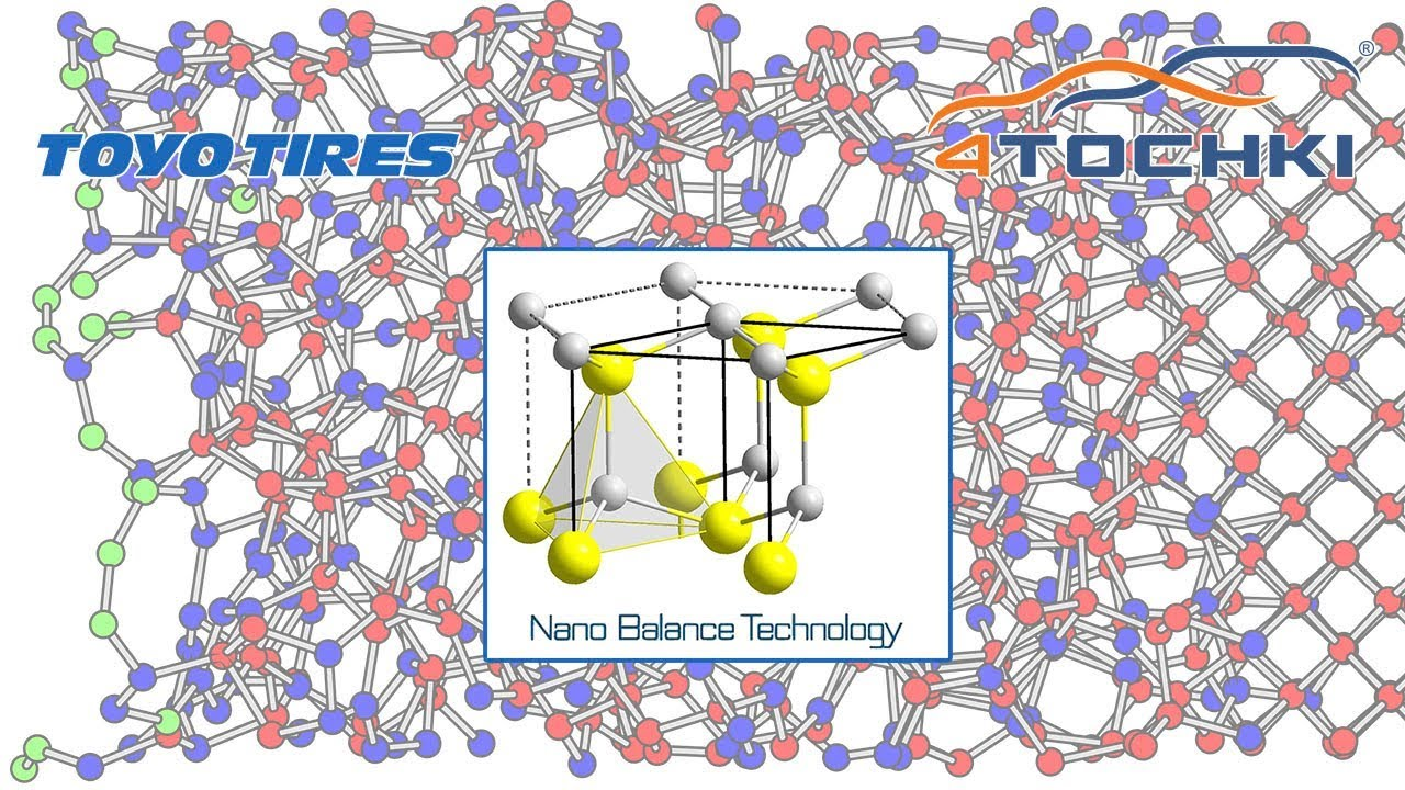 Toyo Tires - технология Nano Balance. Шины и диски 4точки - Wheels & Tyres.