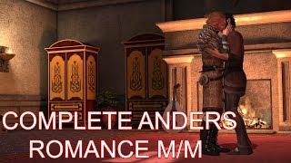 Dragon Age 2: Anders / M!Hawke Complete Romance (All Cutscenes)