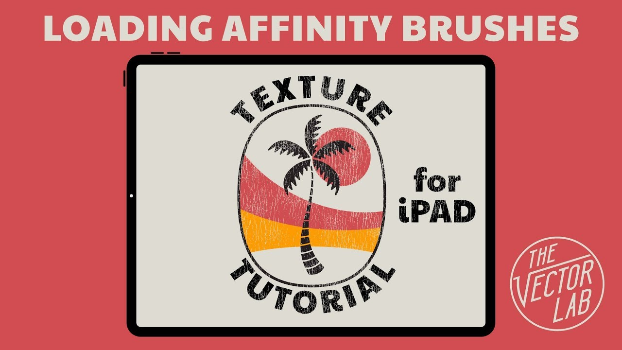 How to Load Brushes into Affinity for iPad