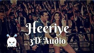 Heeriye - Race 3 | 3D Audio | Surround Sound | Use Headphones 👾