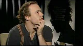 Heath Ledger talks about life
