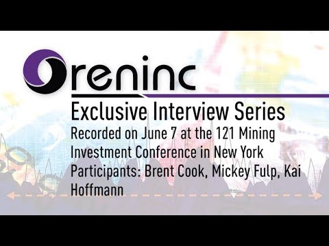 Oreninc Exclusive: Brent Cook & Mickey Fulp @ 121 Mining Investment Conference New York