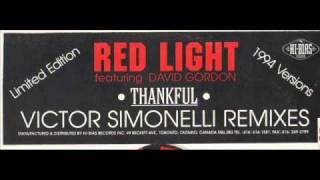 RED LIGHT featuring DAVID GORDON - Thankful (Victor Simonelli club remix)