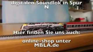 Fleischmann 781374 Unboxing ÖBB 1216 020-8, Spur N, Digital + Sound