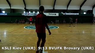 Handball. U17 boys. Sarius cup 2017. BVUFK Brovary (UKR) - KSLI Kiev (UKR) - 15:16 (2nd half)