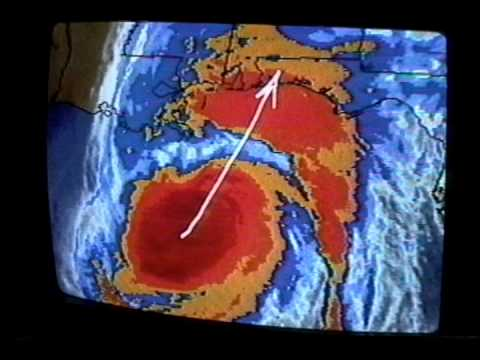 Hurricane Opal- Morning Weather Channel Report - Oct. 4-1995