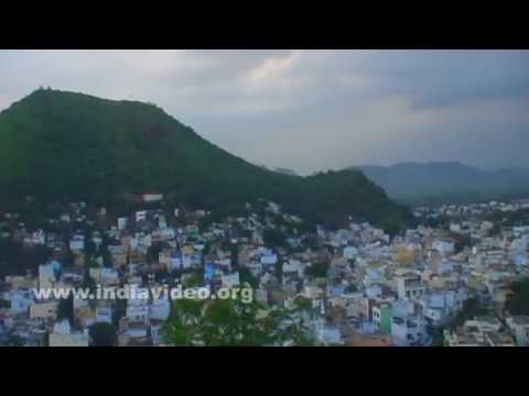 Vijayawada, a view from a hilltop