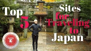 top 5 sites for traveling to japan