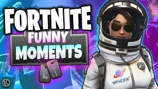 Fortnite Funny Moments - Blitz Mode Fun & The Astronaut Code!