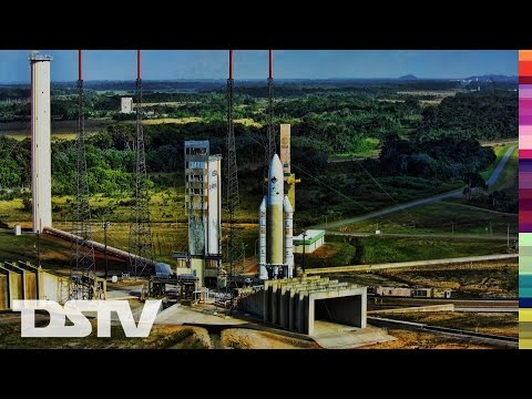 Ariane 5 Rocket Launches From French Guiana