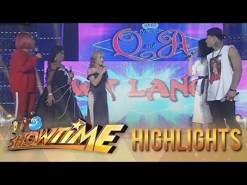 It's Showtime Miss Q and A: Vice and Miss Q & A candidates fight over Zeus