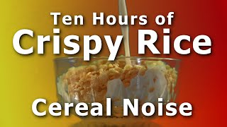 Snap Crackle Pop Sounds for 10 hours of Crispy Rice Cereal Resimi