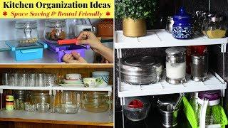 5 Amazing Space Saving Kitchen Organization Ideas | Kitchen Organizing Tips | Urban Rasoi