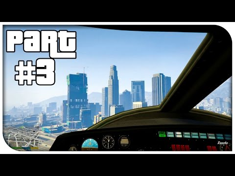 GTA 5 FIRST PERSON Gameplay Walkthrough Part 3 - FLYING A PLANE! (GTA V Xbox One/PS4)