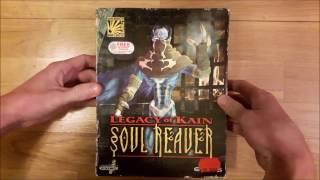 Legacy of Kain: Soul Reaver PC Big box Unboxing