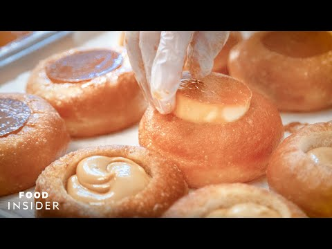 Hundreds Of Leche-Flan-Filled Doughnuts Are Made In A New York Apartment