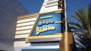 Buzz Lightyear Astro Blasters Disneyland Ride Through