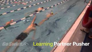 Learning Partner Pusher Drill