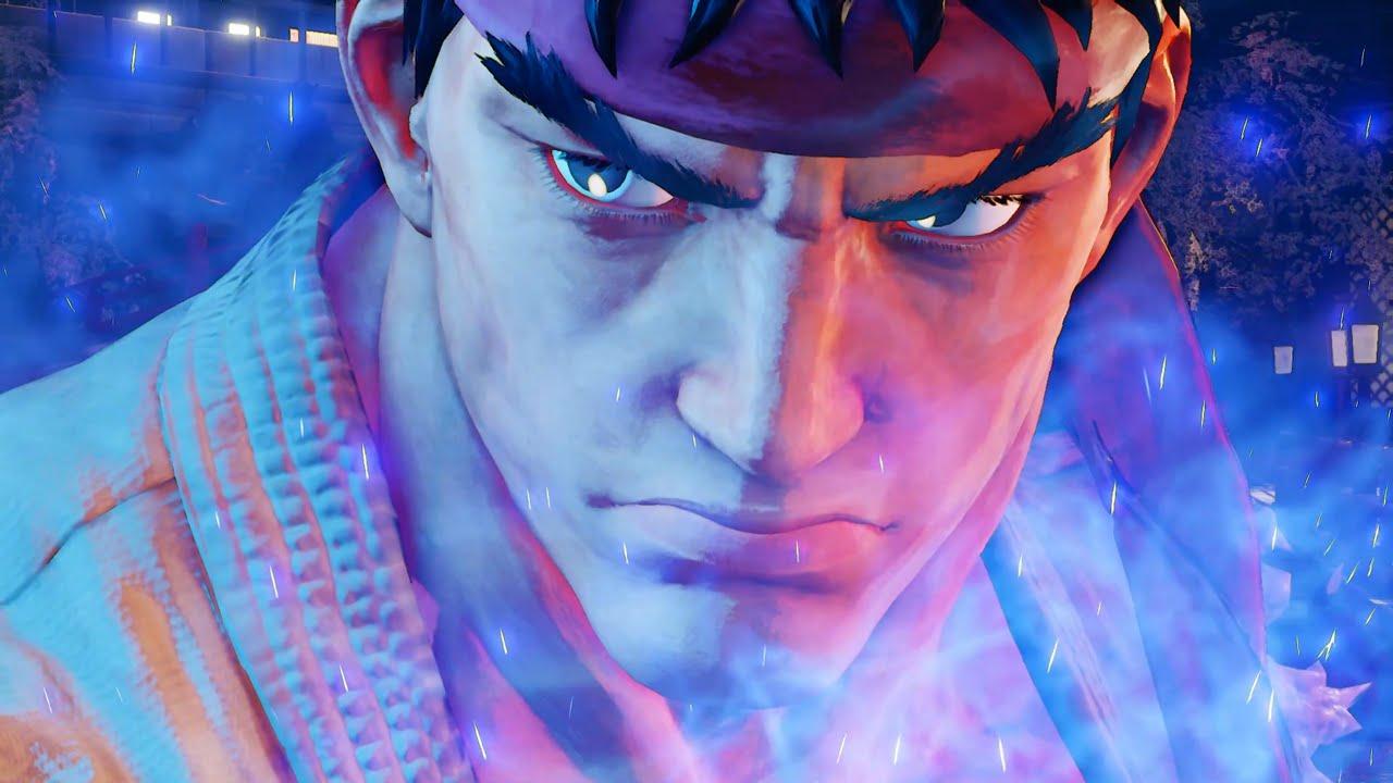Street Fighter V 5 Ryu Fights Necalli Youtube