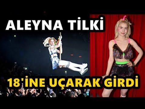 Aleyna Tilki 18 yaşına uçarak girdi! Cevapsız Çınlama