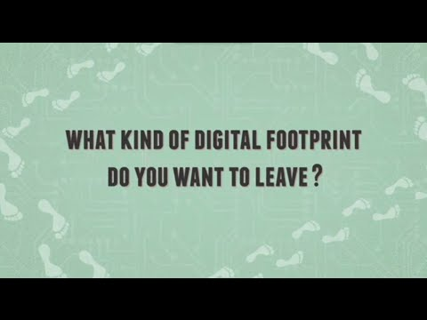What's in Your Digital Footprint?