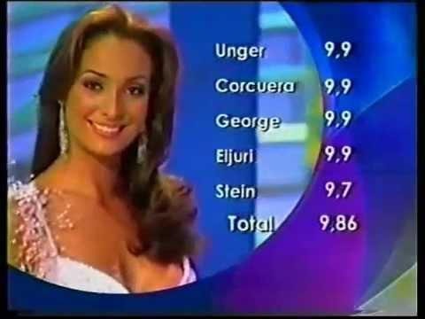 Señorita Colombia 2003 Traje de Noche Parte 1 - YouTube