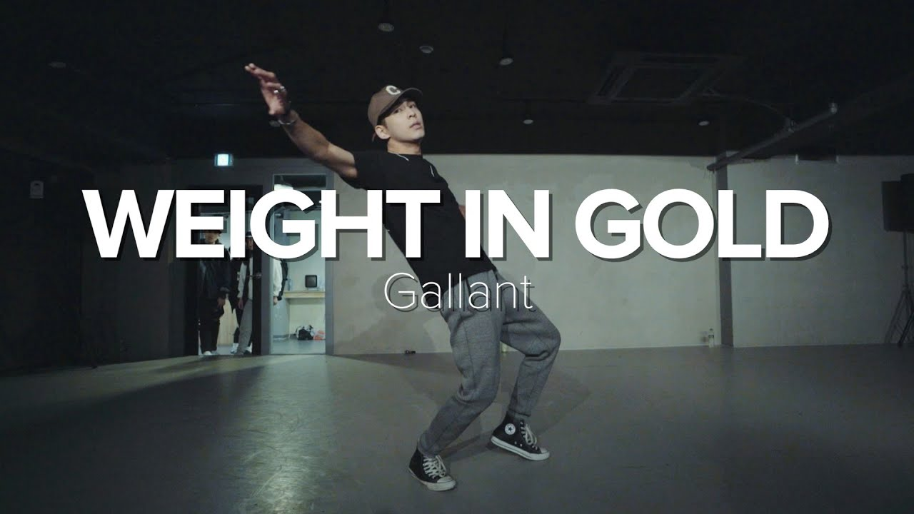 Weight in gold - Gallant / Junho Lee Choreography - YouTube