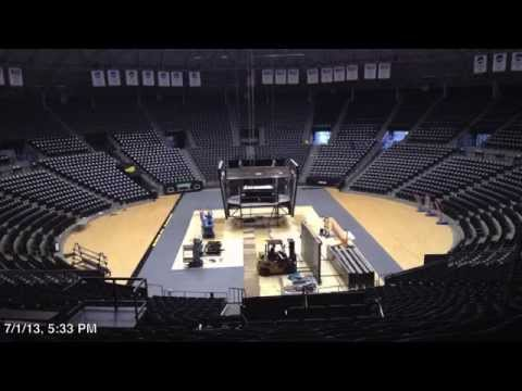 2013 Charles Koch Arena Video Board (Installation-Part 1)