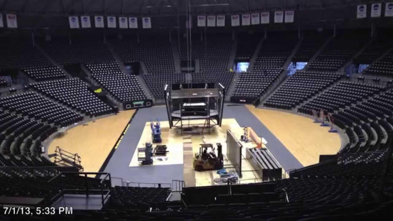 2013 Charles Koch Arena Video Board Installation Part 1