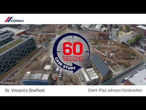 60second case study Porofoam Foamed Concrete -St Vincents Sheffield