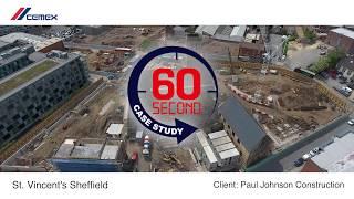 60second case study Porofoam Foamed Concrete -  St Vincents Sheffield