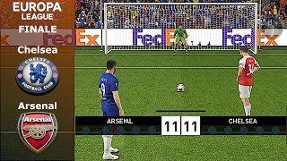 Chelsea Vs Arsenal • Finale di UEFA Europa League (Calci di Rigore) • PES 2019 Patch [Giù]