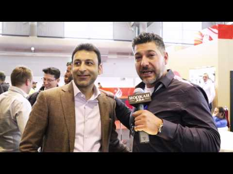 Starbuzz at Shisha Messe 2017 with HookahJohn
