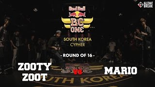 ZOOTY ZOOT vs MARIO / Round of 16 / Red Bull BC One South Korea 2015 / Allthatbreak.com