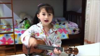 Happy Birthday สุขสันต์วันเกิด Ukulele Cover by น้องเกล