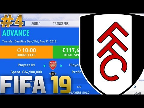 FIFA 19 | CAREER MODE | #4 | TRANSFER DEADLINE DAY SIGNING