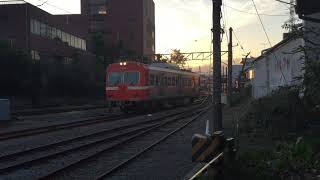 ふじさんあそび 夕暮れの岳南電車