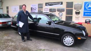 Buying a 10 to 15 Year Old Mercedes Part 8: Initial Inspection - Key Things to Check