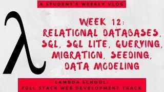 Lambda School Week 12   A Student's Vlog   Lambda School: Full Stack Web Development Track