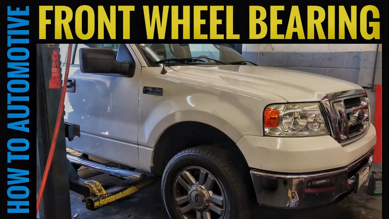 How to Replace the Front Wheel Bearings on a 2004-2008 Ford F150 2WD