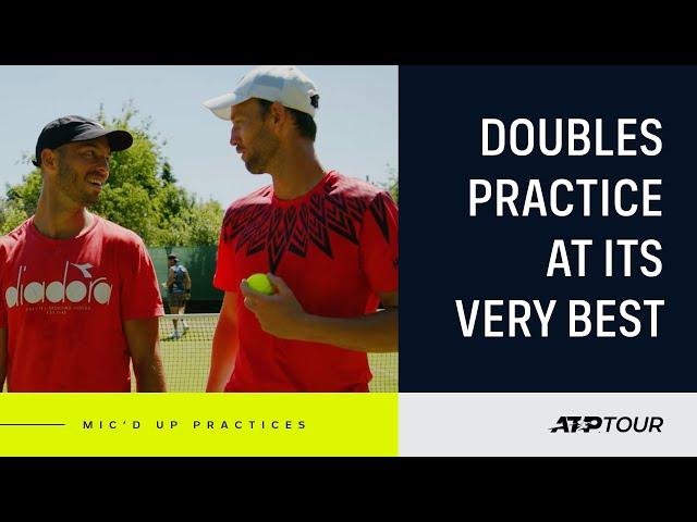 Inside A Doubles Court With Venus & Puetz Mic'd Up