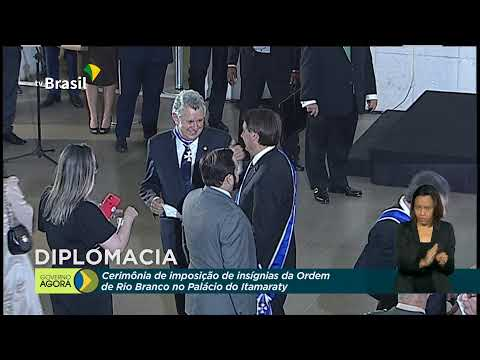 Cerimônia de Formatura dos alunos do Instituto Rio Branco
