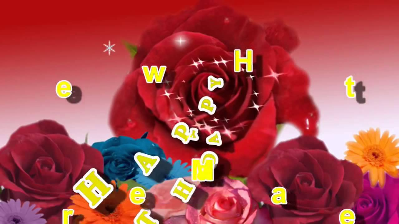 Happy Birthday My Dear Sweet Heart Video Greeting Card For Love