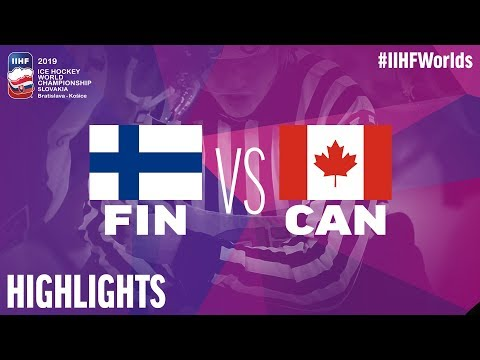 Finland Vs. Canada | Highlights | 2019 IIHF Ice Hockey World Championship