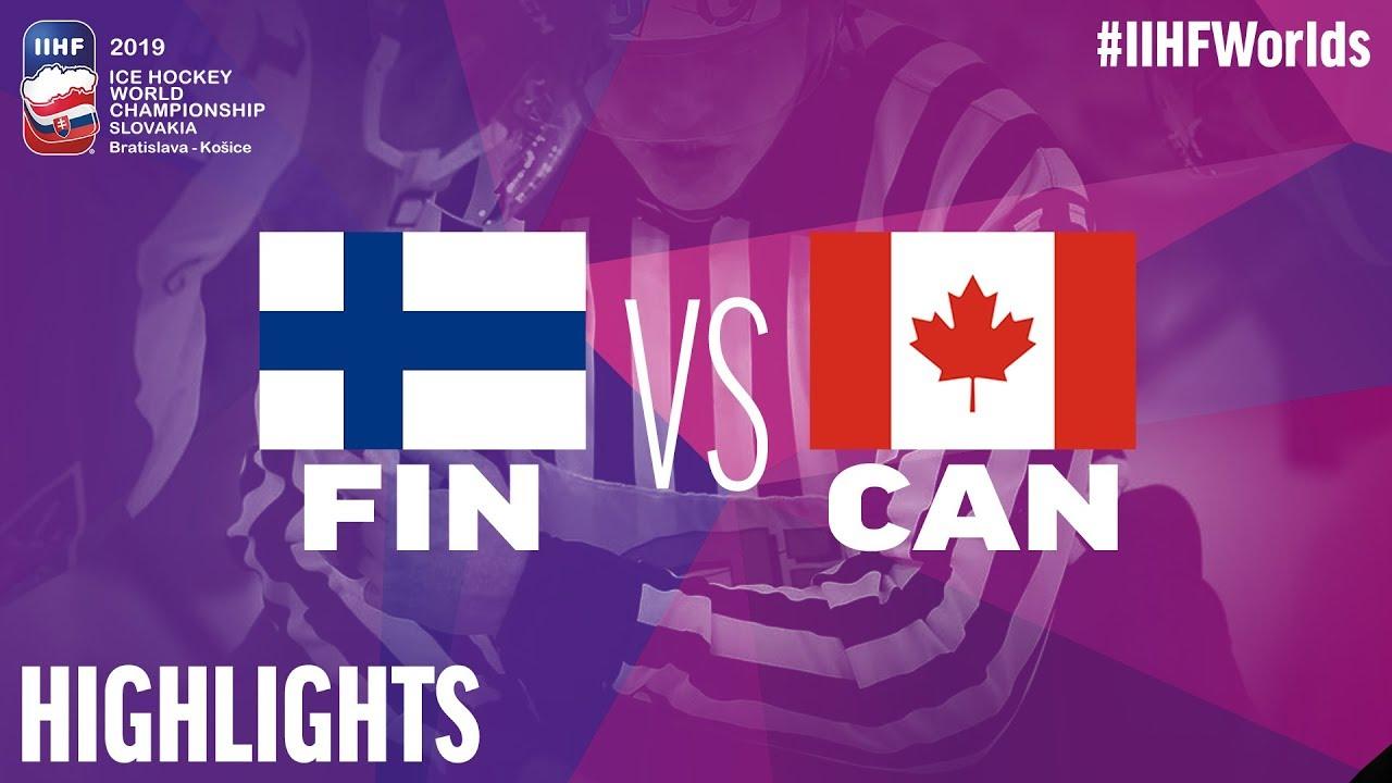 Finland Vs Canada Highlights 2019 Iihf Ice Hockey World
